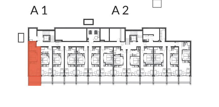 Aries Bukowina Tatrzańska / condohotel A1 rzut 2