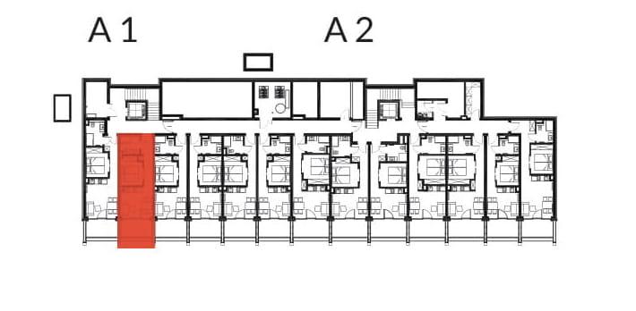 Aries Bukowina Tatrzańska / condohotel A2 rzut 2