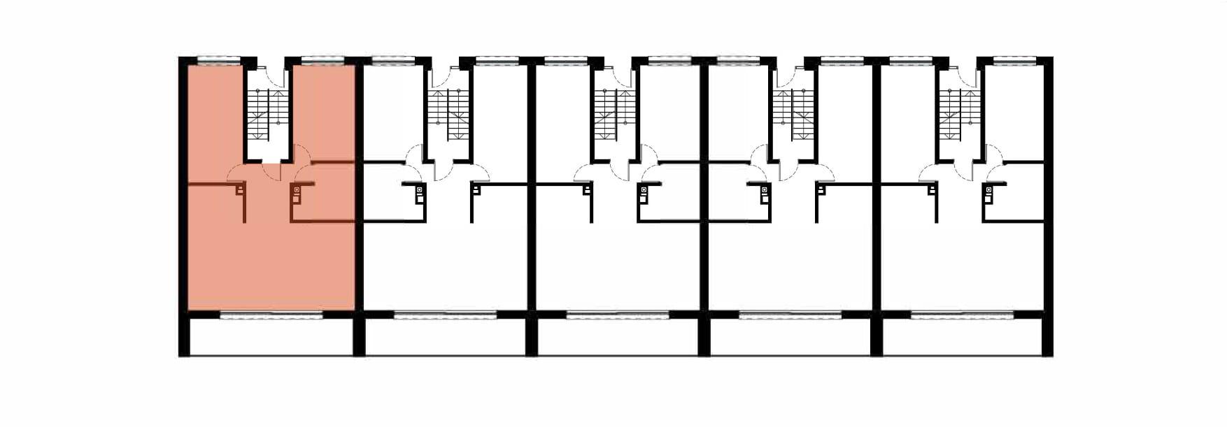 Apartamenty Kamienna / apartamenty inwestycyjne 1A rzut 2