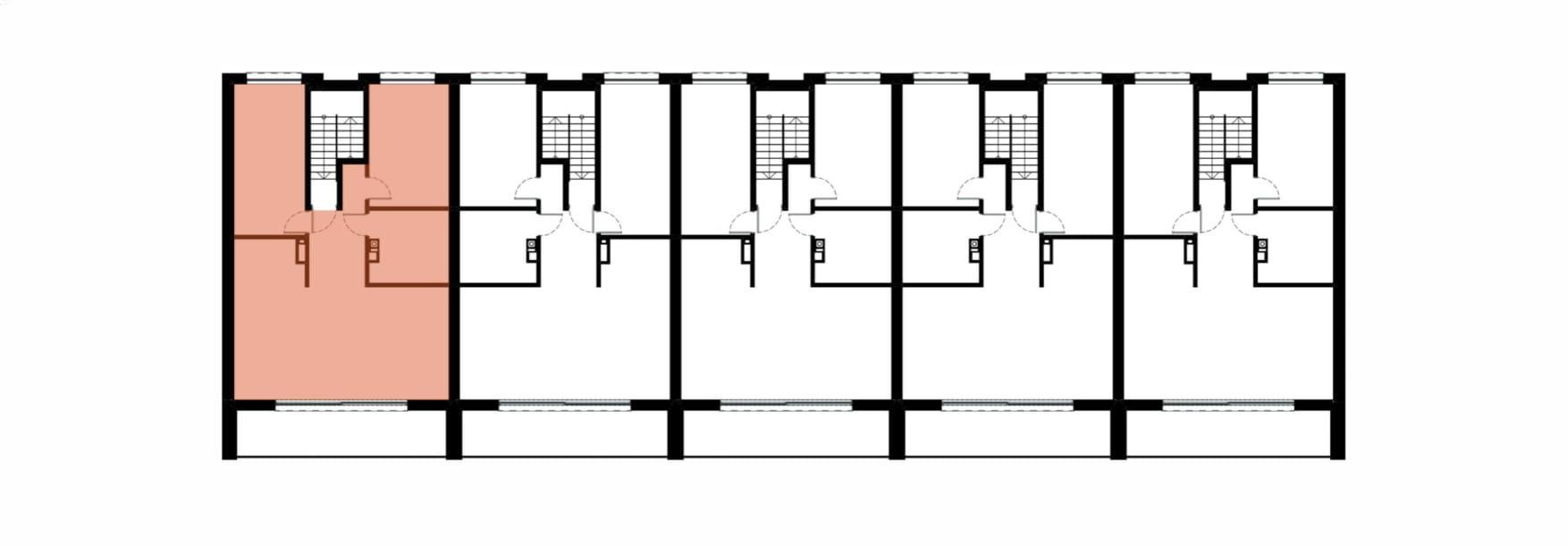 Apartamenty Kamienna / apartamenty inwestycyjne 1B rzut 2