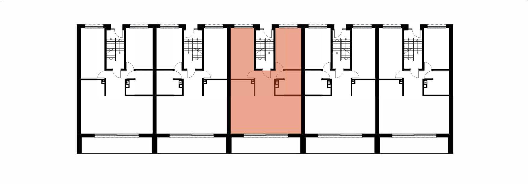 Apartamenty Kamienna / apartamenty inwestycyjne 3A rzut 2