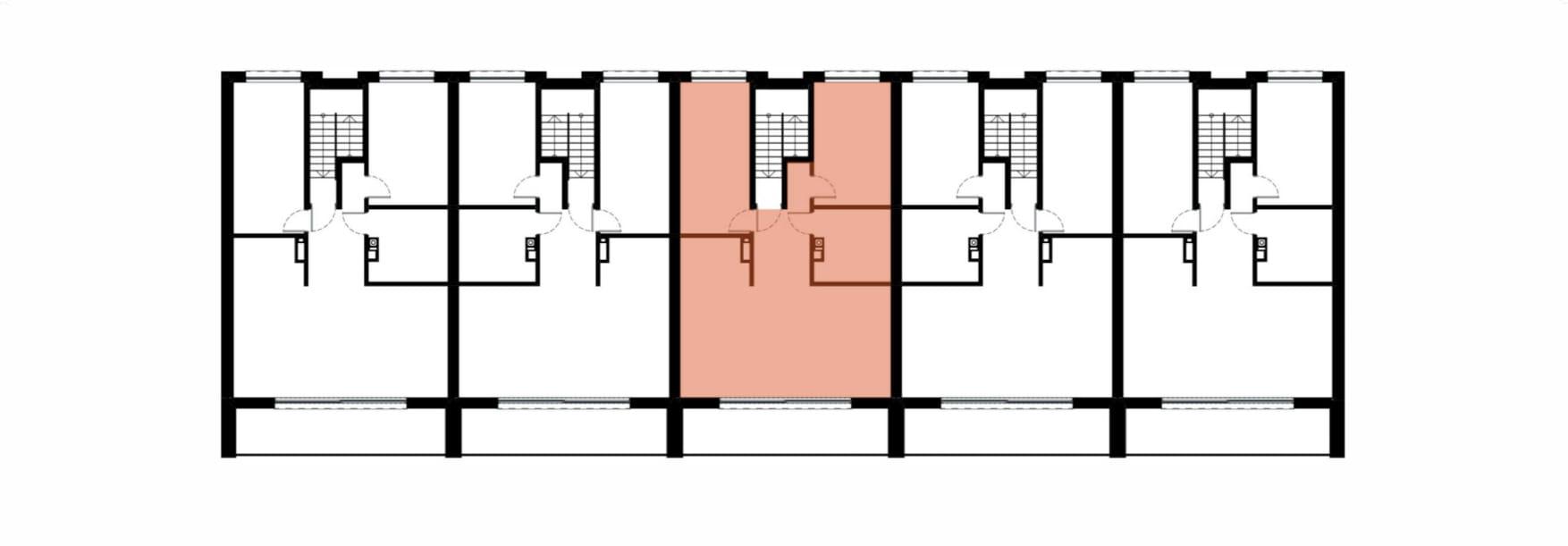 Apartamenty Kamienna / apartamenty inwestycyjne 3B rzut 2