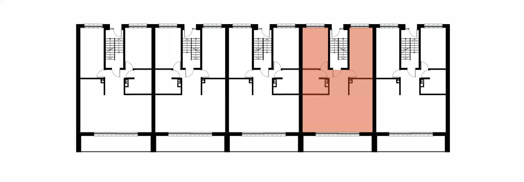 Apartamenty Kamienna / apartamenty inwestycyjne 4A rzut 2