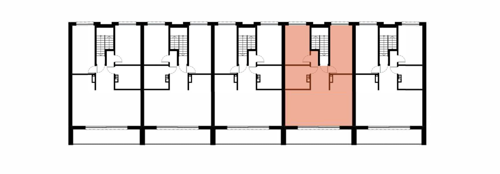Apartamenty Kamienna / apartamenty inwestycyjne 4B rzut 2