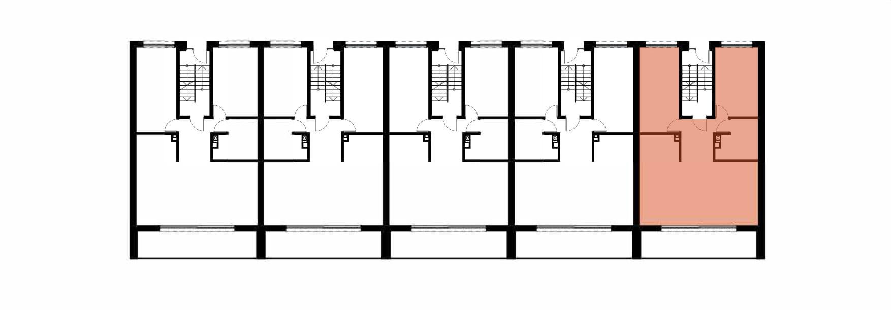 Apartamenty Kamienna / apartamenty inwestycyjne 5A rzut 2