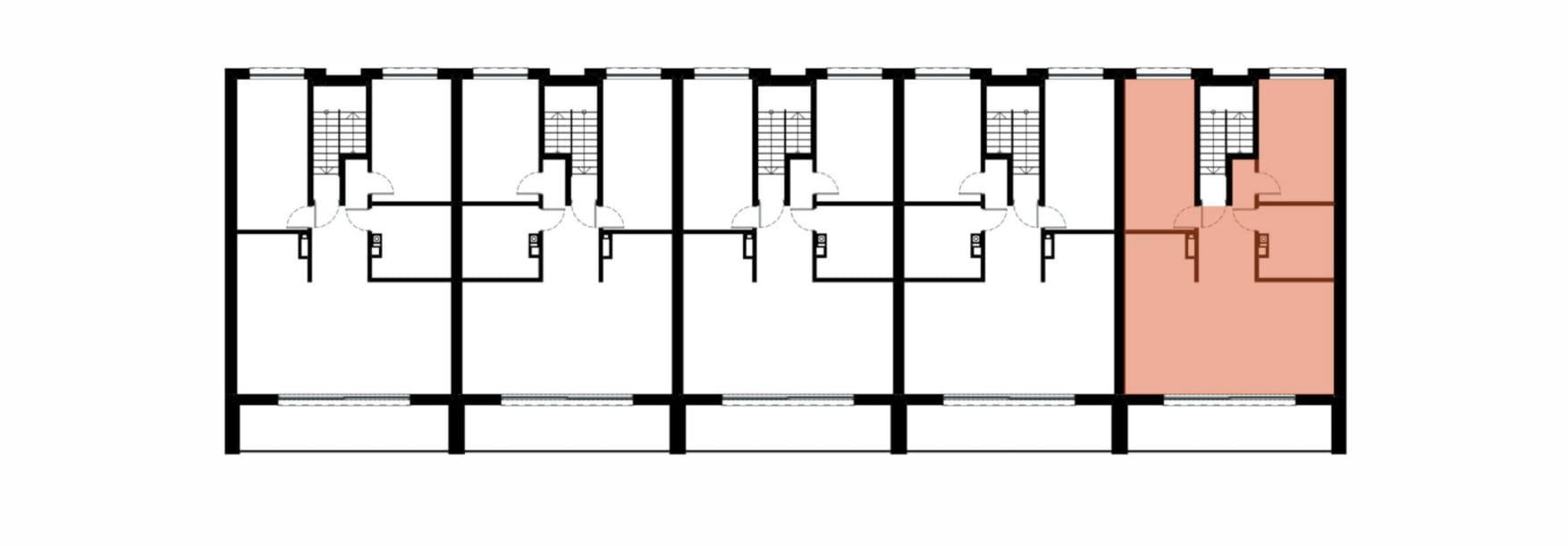 Apartamenty Kamienna / apartamenty inwestycyjne 5B rzut 2