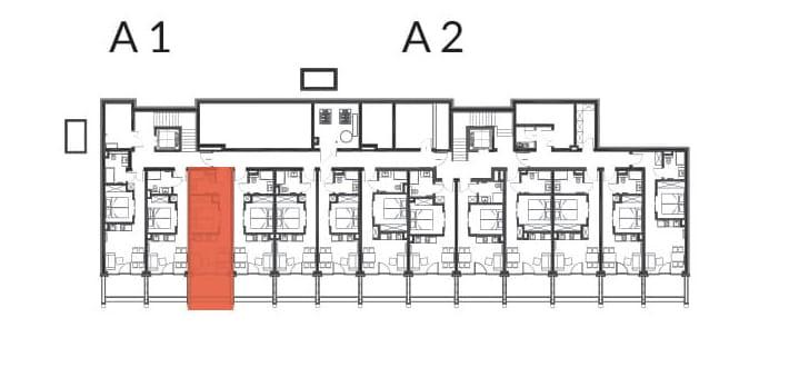 Aries Bukowina Tatrzańska / condohotel A3 rzut 2